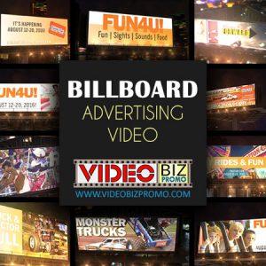 billboard advertising video