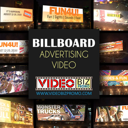 billboard advertising video