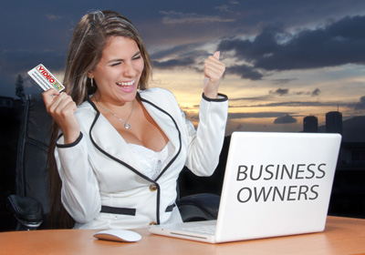 business owners video business cards