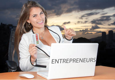 entrepreneurs video business cards