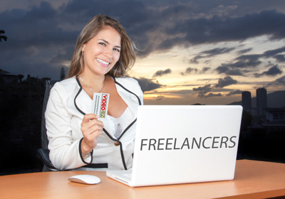 freelancers video business cards