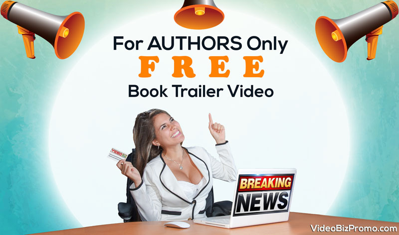 free book trailer video